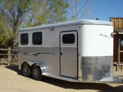 2019 Royal T Warmblood 2 Horse Trailer