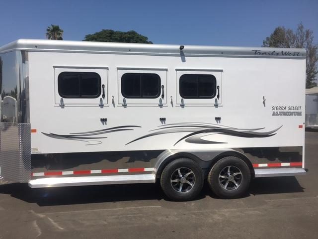 2018 Trails West Manufacturing Sierra Select Horse Trailer 7
