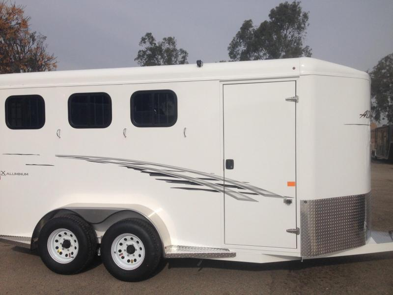 2017 Trails West 3 Horse BP Trailer