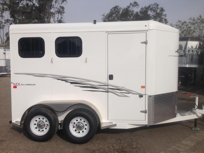 2019 Trails West 2 Horse Bp Trailer