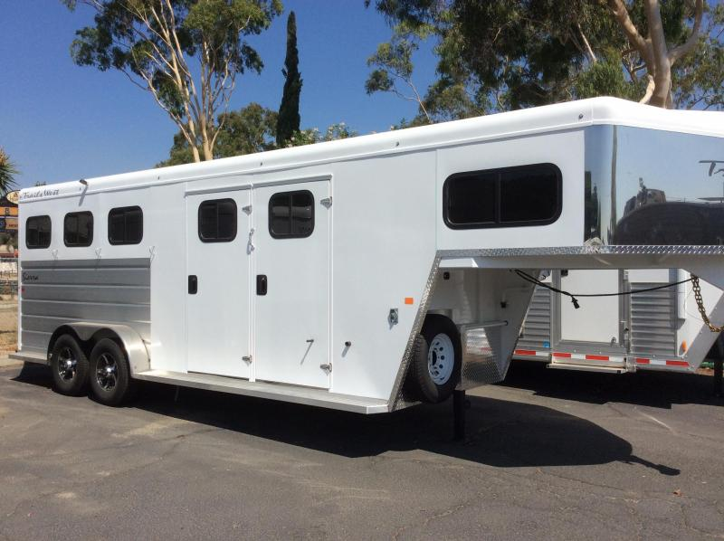 2019 Trails West SIERRA 3  Horse Trailer