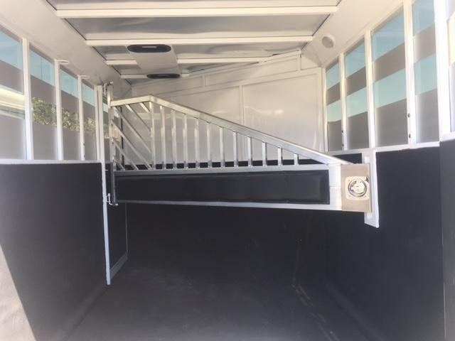 2017 Trails West Manufacturing Santa Fe II Horse Trailer