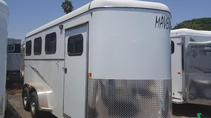 2019 Maverick Deluxe 3 Horse Trailer