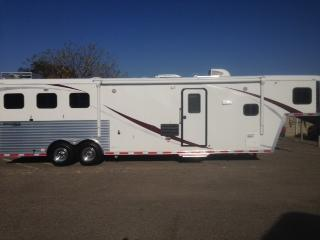 2014 Hoosier Maverick LQ 3 Horse Trailer