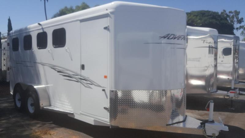 2018 Trails West ADVENTURE  4 Horse Trailer