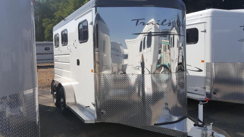 2018 Trails West  SEIRRA II   2 Horse Trailer