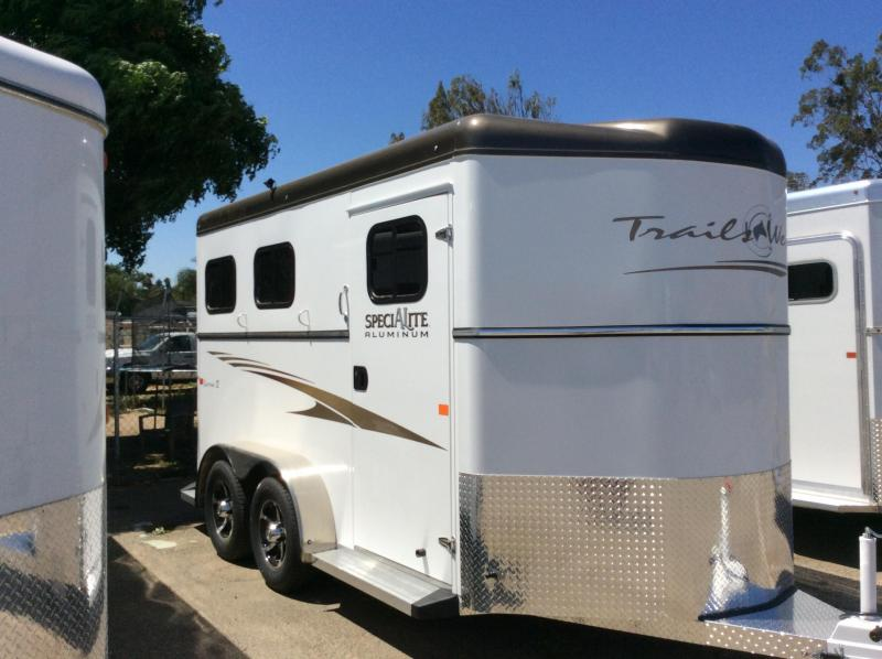 2019 Trails West Manufacturing Sierra 2 Horse Trailer
