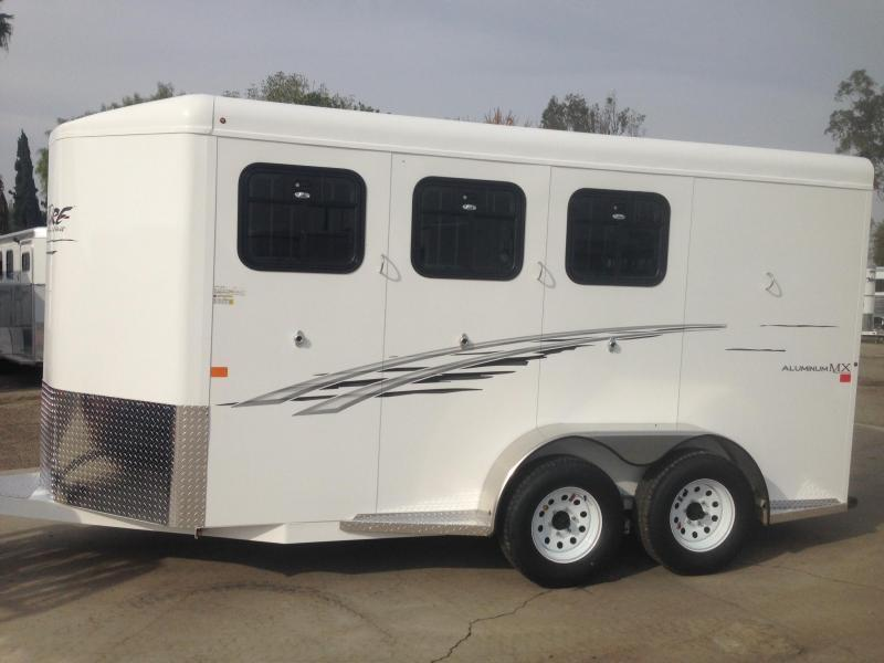 2015 Trails West 3 Horse BP Trailer