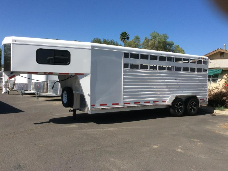 2019 Trails West  Hot Shot Stock Combo 24' (GN)