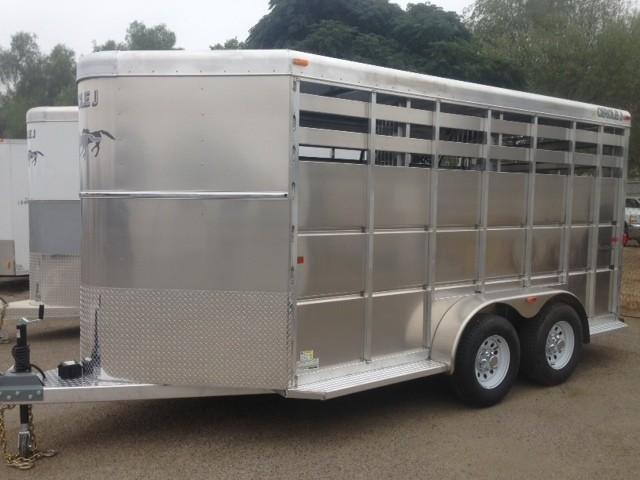 2014 Circle J Trailers Aluminum Horse Trailer