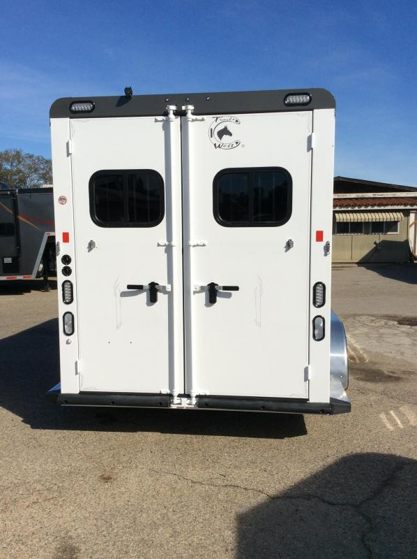 2017 Trails West Sierra Select 2 Horse BP Horse Trailer