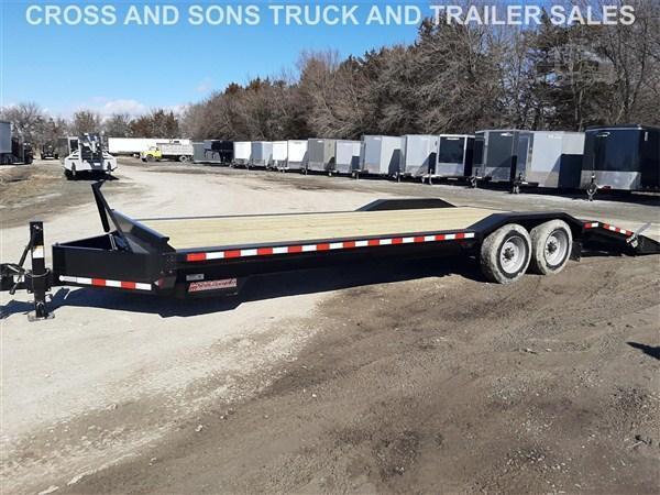 2020 Midsota STWB-24 Equipment Trailer
