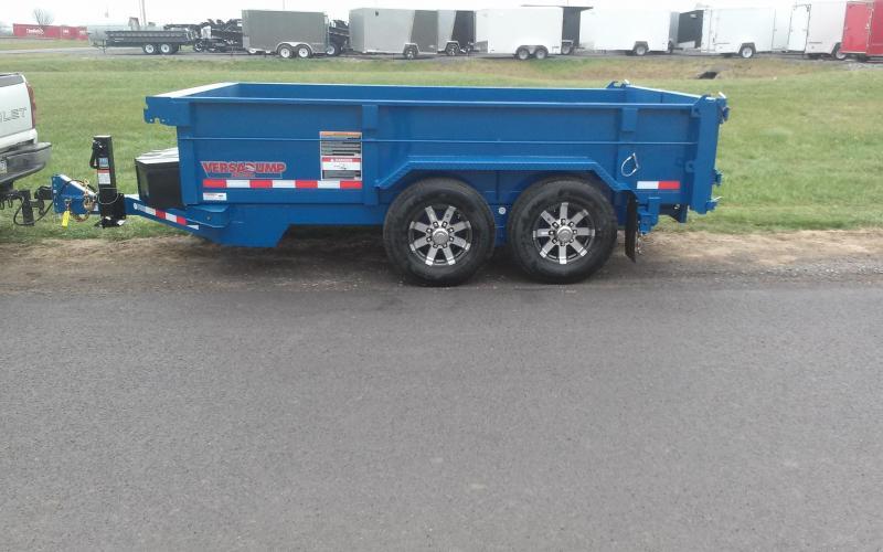 2018 Midsota 7X14 HV-12 Dump Trailer