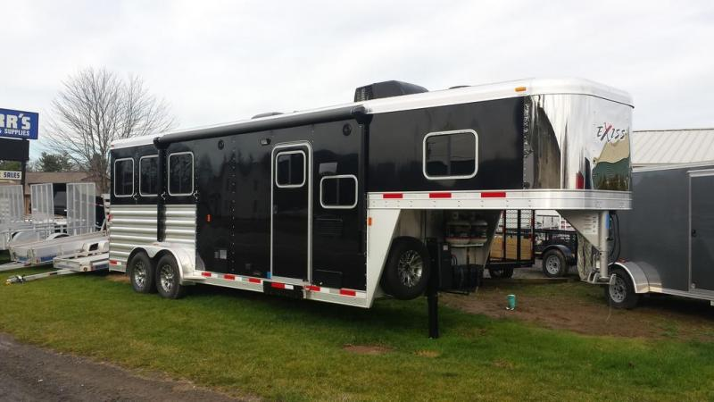 2016 Exiss Escape 7308 LQ Horse Trailer