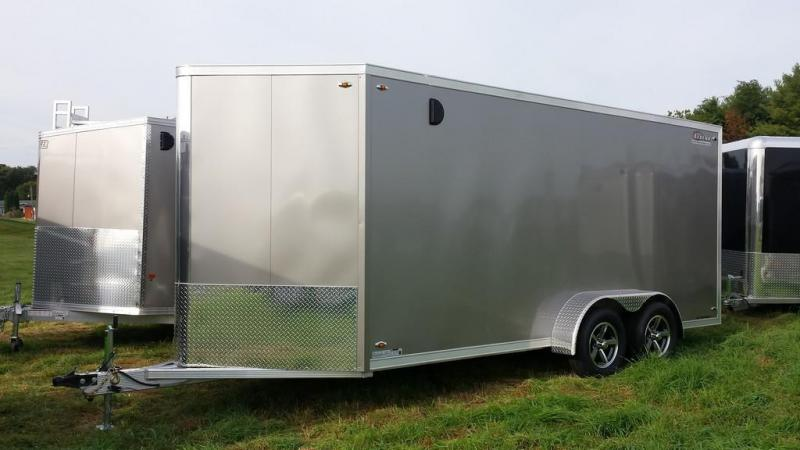 2016 Legend Manufacturing 7x19 all aluminum Enclosed Cargo Trailer