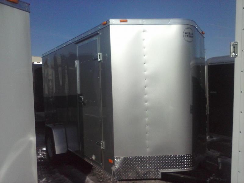 2014 Wells Cargo Fast Trac 6x12 ramp 3.5k Cargo / Enclosed Trailer