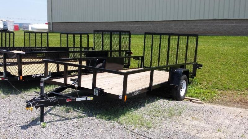 2016 Holmes commercial 6-4x14 utility trailer -LED -5k -open rails