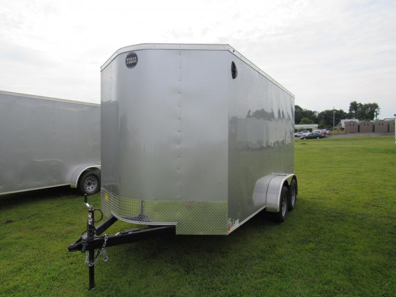 2019 Wells Cargo FastlTrac 7x14 Enclosed Cargo Trailer