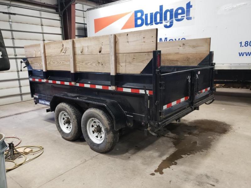 2016 Sure-Trac 7x12 12K Dual Ram  Dump Trailer