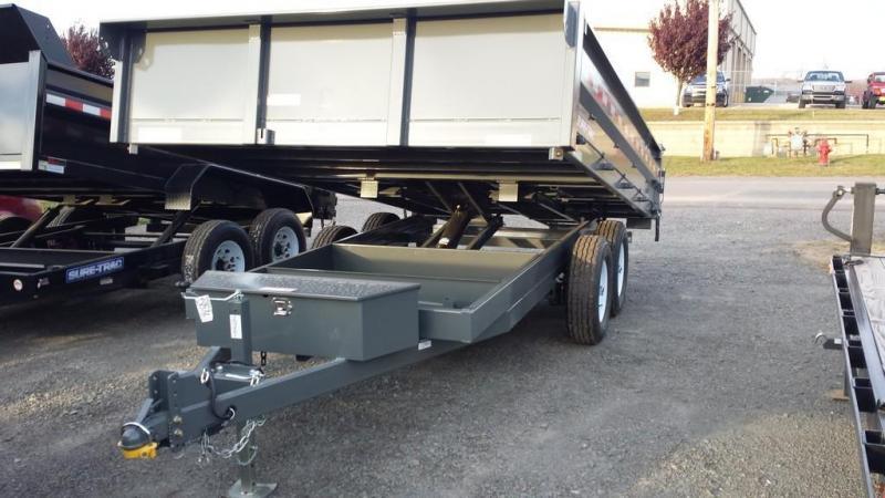 2017 Sure-Trac 8x14 Deckover Dump Trailer