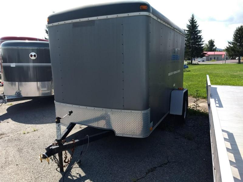 2004 United Trailers 6x10 Enclosed Cargo Trailer
