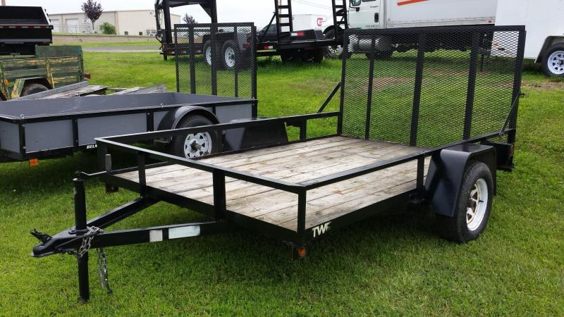 2006 Other TWF 6x10 open rail Utility Trailer
