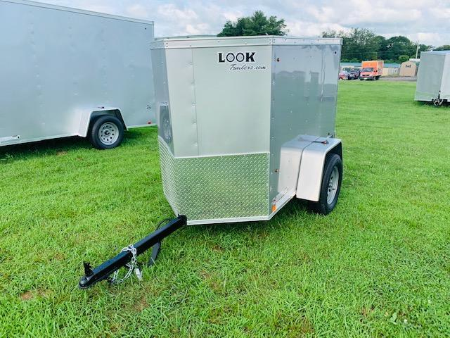 2020 Look Trailers Element 4x6 Enclosed Cargo Trailer