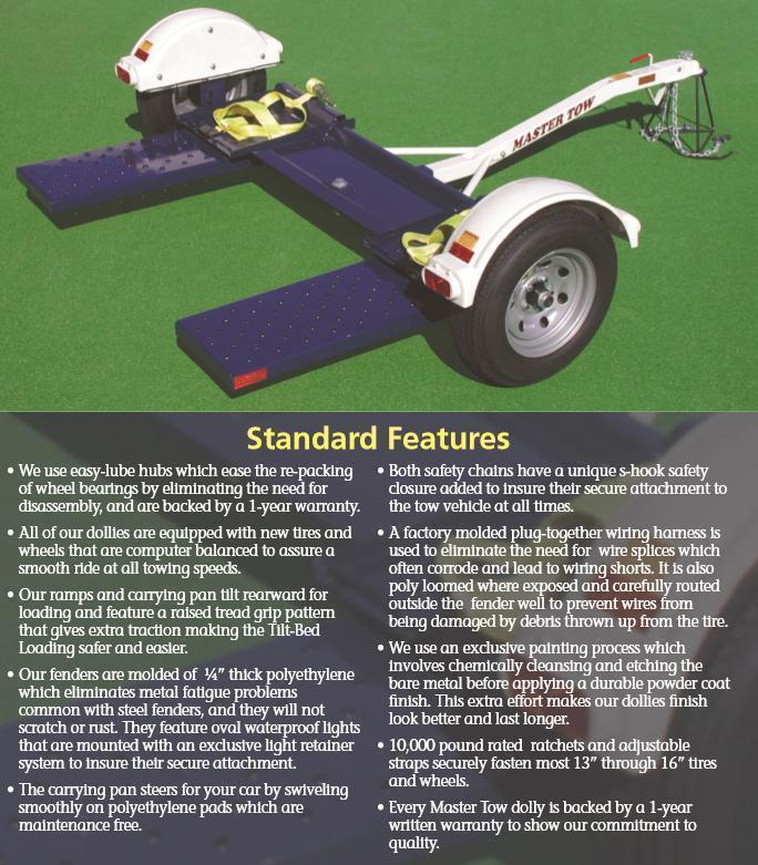 2015 Master Tow 80 THDEB Tow Dolly