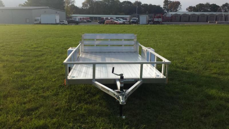 2019 Stealth 6-5x12 Alum Open Deck Rail Utility Trailer