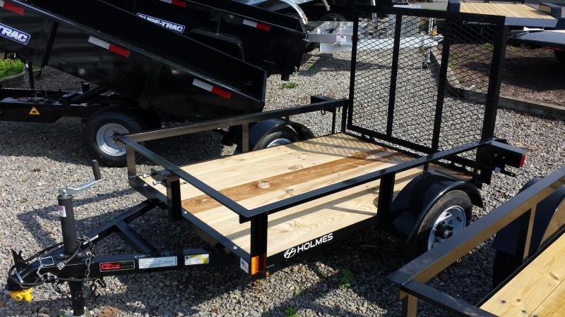 2016 Holmes 4x6 Open Side Utility Trailer