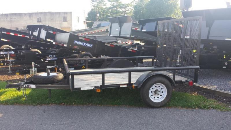 2014 Carry-On 6-4x8 Round Top Utility Trailer