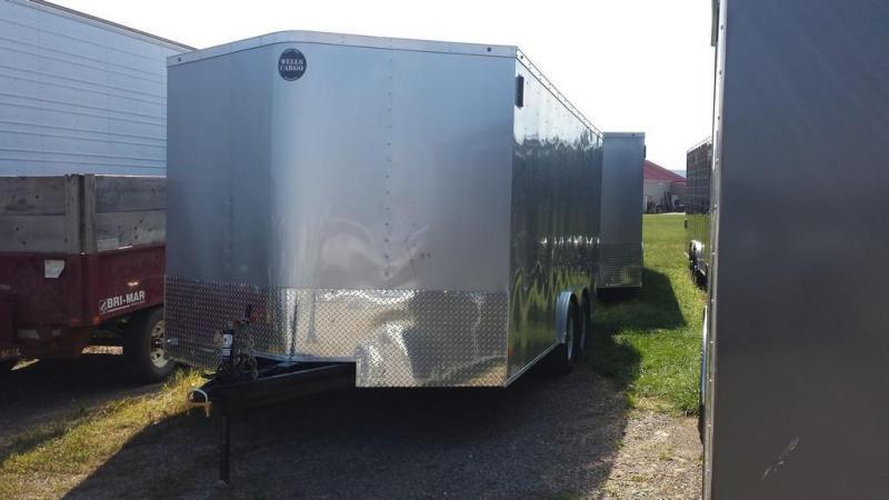 2017 Wells Cargo 8x16 Fast Trac 10k Enclosed Cargo Trailer