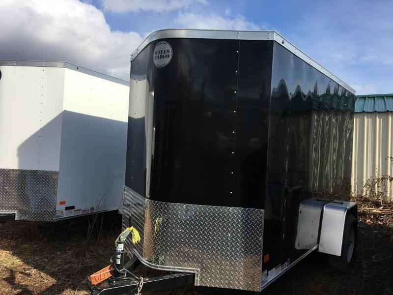 2017 Wells Cargo 5x10 Fast Trac Enclosed Cargo Trailer