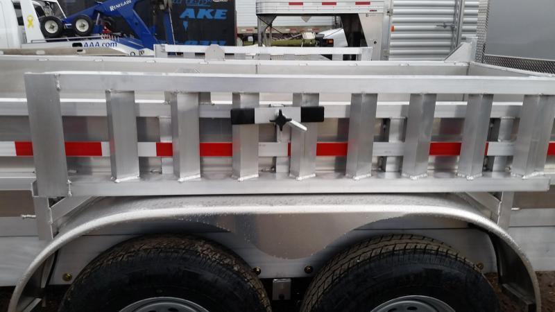 2019 Mission MODP 6x12 Aluminum 10K Dump Trailer