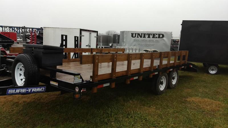 2015 Sure-Trac 16+4 10K Deckover Equipment Trailer