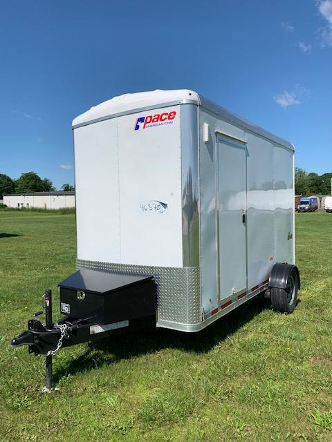 2019 Look Trailers 6x12 Drop Deck Enclosed Cargo Trailer