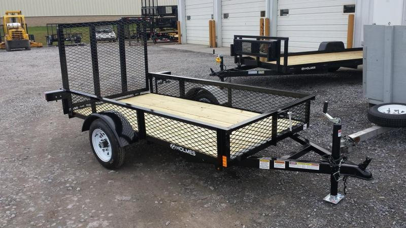 2015 Holmes residential 4x8 utility trailer -LED -mesh sides -2k