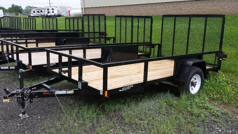 2015 Holmes commercial 6-4x12 utility trailer -LED -5k -open rails