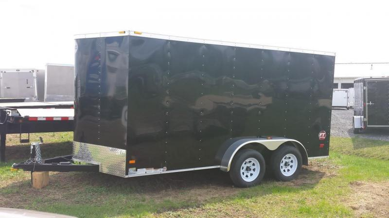 2017 Wells Cargo Fast Trac 7x14 Cargo / Enclosed Trailer