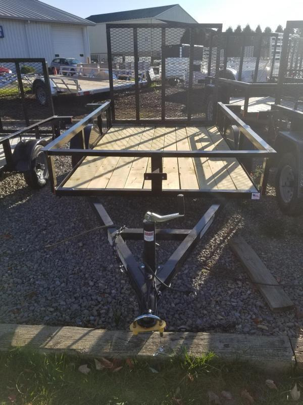 2019 Holmes 5x8 Open Side Rail Utility Trailer