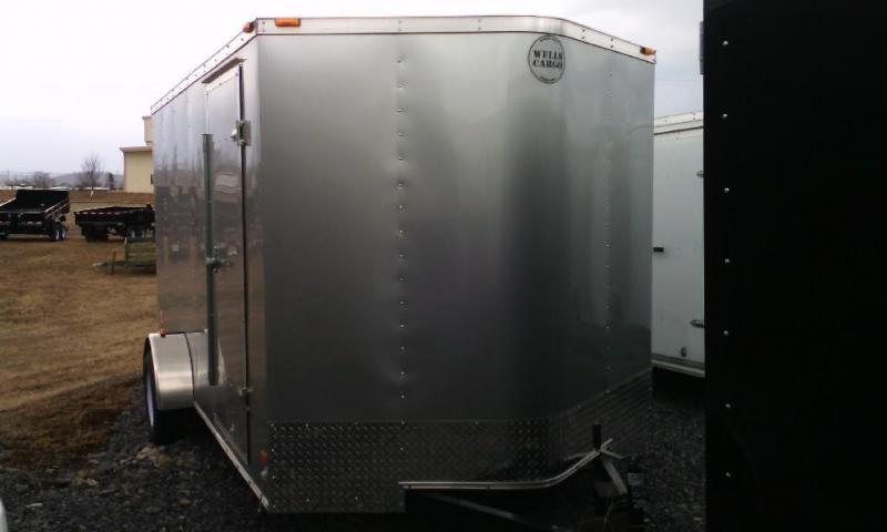 2015 Wells Cargo Fast Trac 7x12 Cargo / Enclosed Trailer
