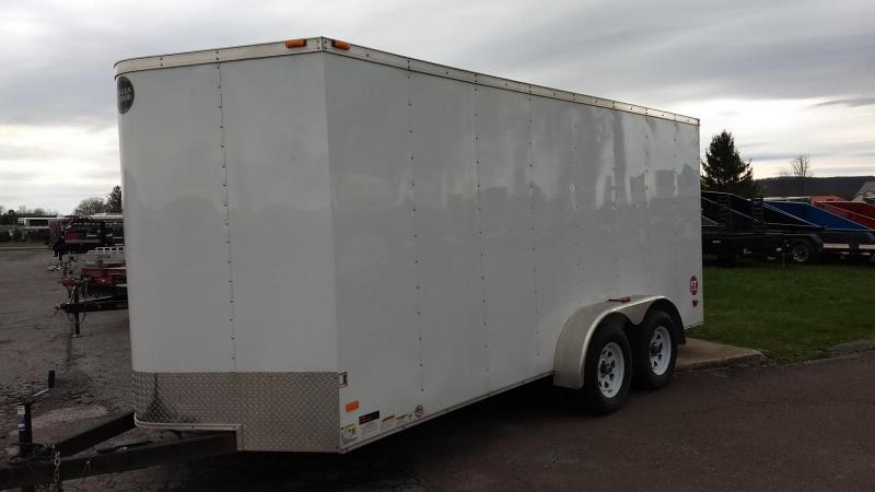 2015 Wells Cargo 7x16 7k Enclosed Cargo Trailer