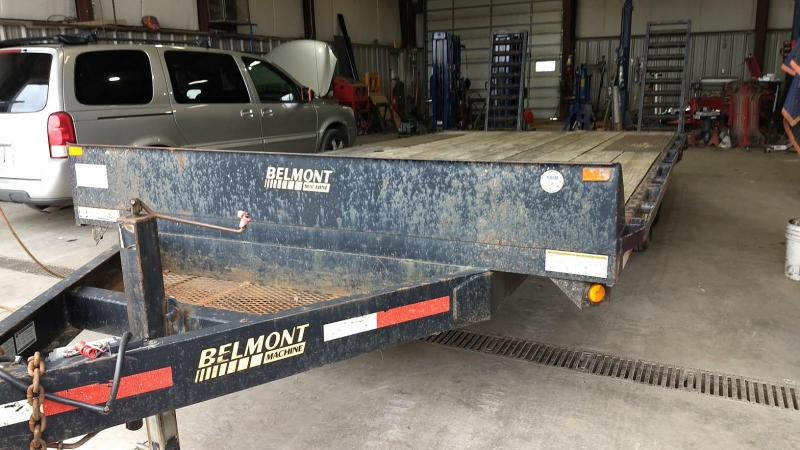 2007 Belmont Machine 164 10K Equipment Trailer