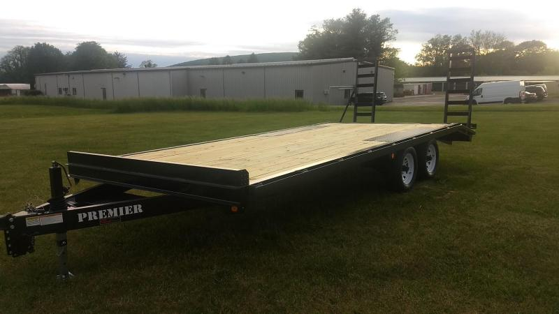 2019 Premier Trailers Inc. 17+3 10K Deck-Over Equipment Trailer