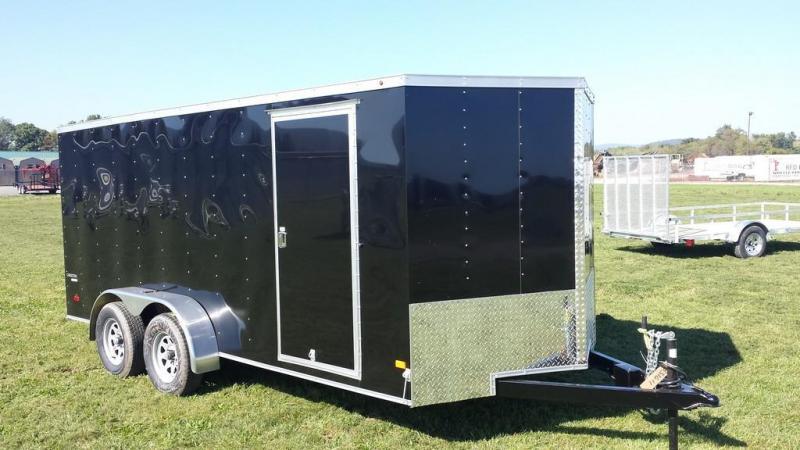 2017 Wells Cargo 7x16 Cargo Trac Enclosed Cargo Trailer