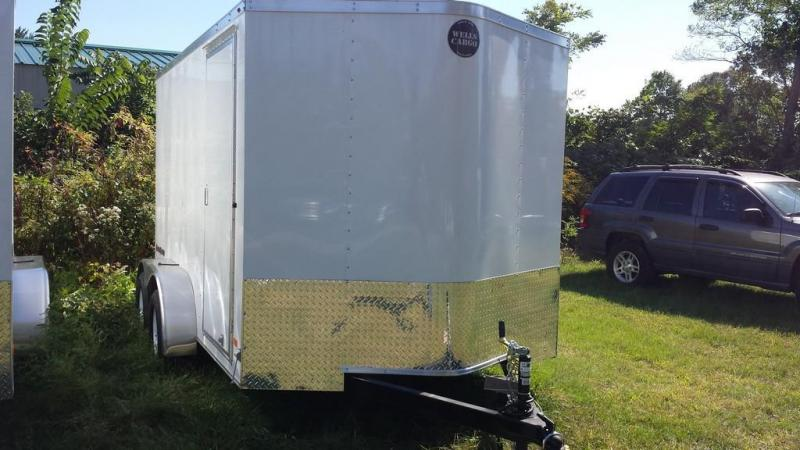 2017 Wells Cargo 7x12 Fast Trac 7k Enclosed Cargo Trailer
