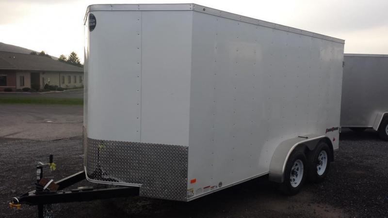 2017 Wells Cargo 7x14 Fast Trac Enclosed Cargo Trailer