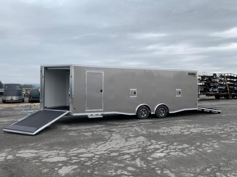 2020 Mission 8.5x24 7K Snowmobile Trailer