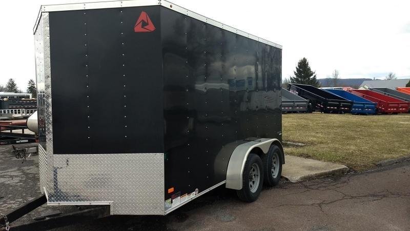 2017 Wells Cargo 7x12 7K Enclosed Cargo Trailer