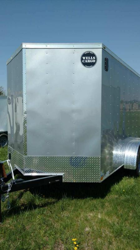 2018 Wells Cargo 300 Series 7x12 7K Enclosed Cargo Trailer